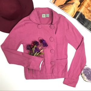 [Anthropologie] Dusty Mauve Sweater Size Small